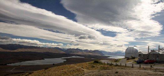 Lake Tekapo und Mount John Observatory 1